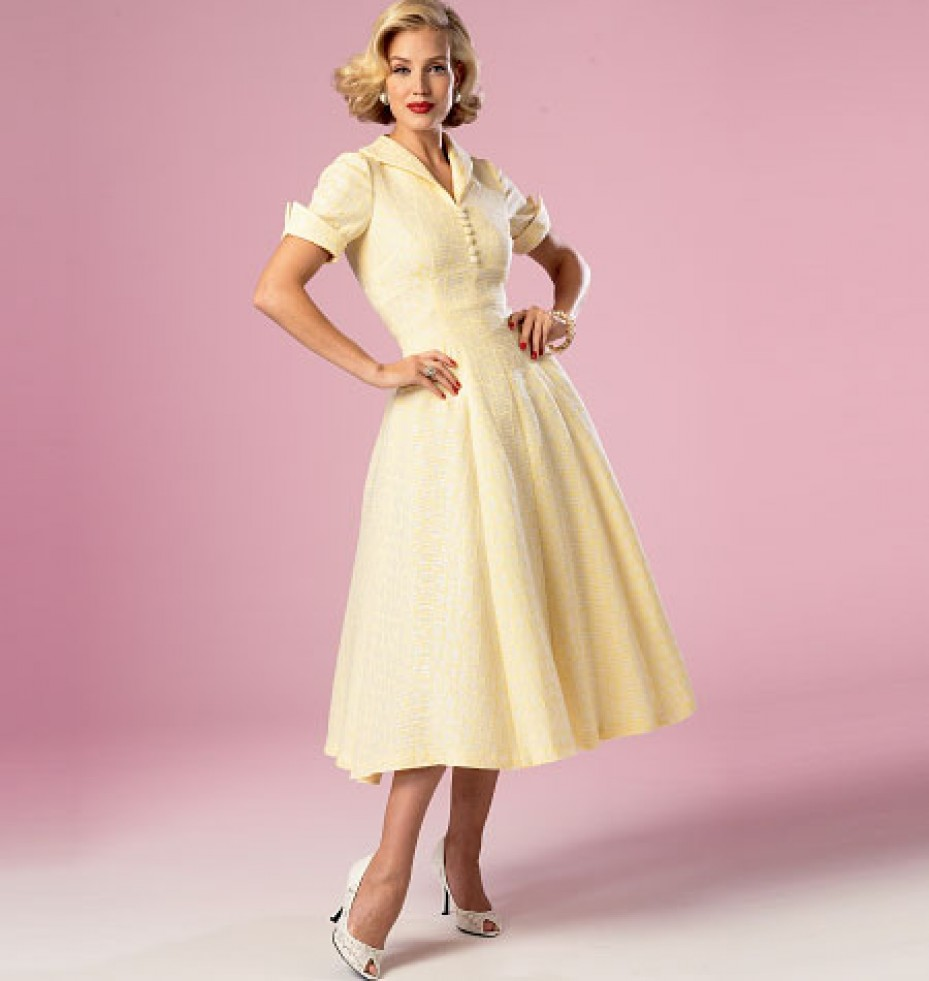 Butterick Sewing Pattern 6018 - Misses' Dress