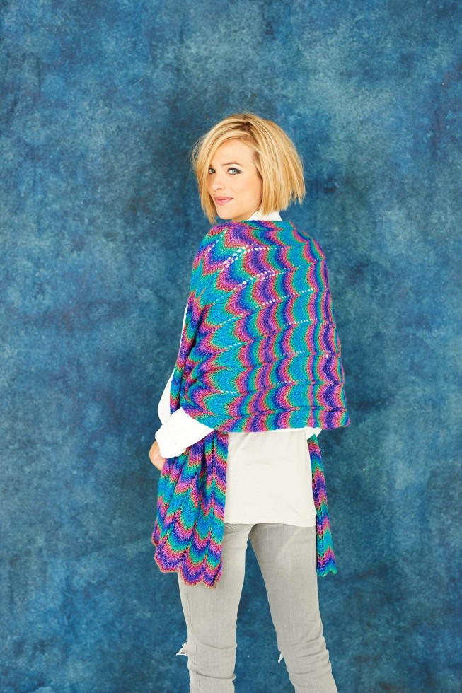 Owl Jumper Knitting Pattern : Stylecraft Ladies Shawls & Scarf Cabaret Knitting Pattern 9185 DK Knitt...