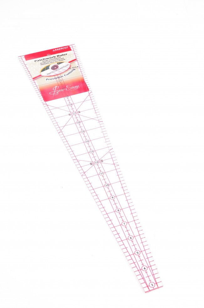 Sew Easy Quilting Ruler 10 Degree Wedge Quilting