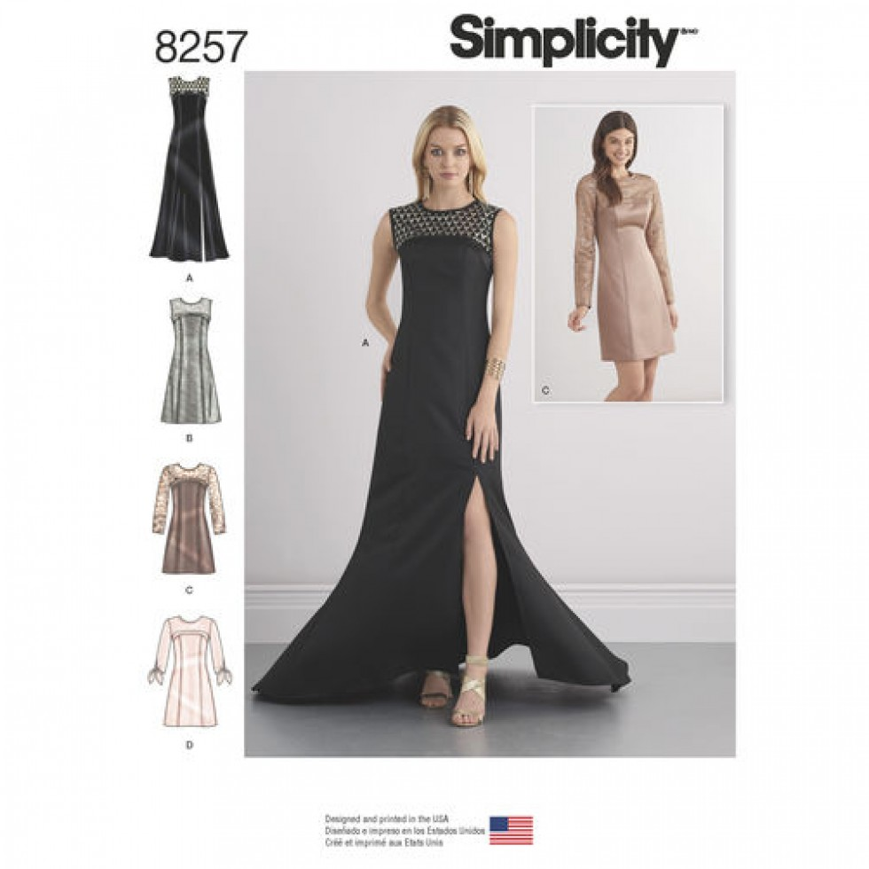 Simplicity Ladies Sewing Pattern 8257 Special Occasion