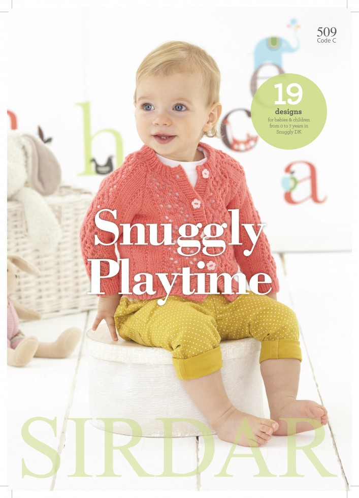 Sirdar Knitting Pattern Books : Sirdar Knitting Pattern Book Baby Snuggly Playtime 509 DK Knitting Books ...