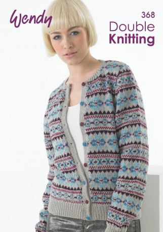 Wendy Double Knitting 368 Knitting Pattern Book DK ...