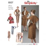 Simplicity Sewing Pattern 8507