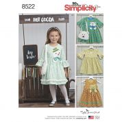 Simplicity Sewing Pattern 8522