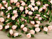 Mini Flower Clusters  Pale Peach