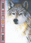 Janlynn Counted Cross Stitch Kit Wolf
