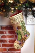 Janlynn Counted Cross Stitch Kit Christmas Morning Stocking Cross Stitch