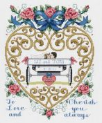 Janlynn Counted Cross Stitch Kit Just Married