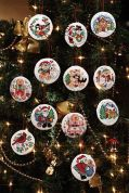 Janlynn Counted Cross Stitch Christmas Holiday Favourites