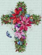 Janlynn Counted Cross Stitch Kit Winter Cross