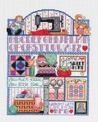 Janlynn Counted Cross Stitch Kit Stitcher's Sampler