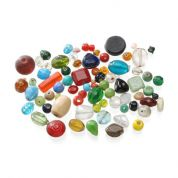 Darice Assorted Glass Beads  Multicoloured