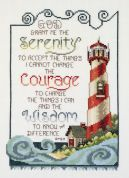 Janlynn Counted Cross Stitch Kit Serenity Lighthouse