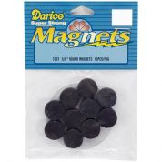 Darice Round Stick On Magnets