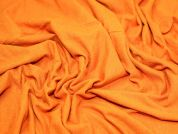 Knitted Stretch Jersey Dress Fabric  Vivid Orange