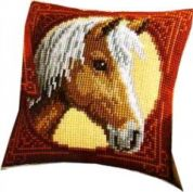 Vervaco Cross Stitch Kit Cushion Kit Horse