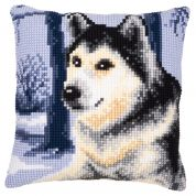 Vervaco Cross Stitch Kit Cushion Kit Wolf