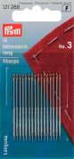 Prym Sharps Hand Sewing Needles with Gold Eye