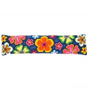 Vervaco Cross Stitch Kit Draught Excluder Kit Bright Flower