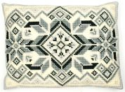 Vervaco Large Cross Stitch Cushion Kit Geometric