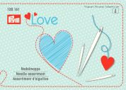 Prym Love Assorted Hand Sewing Needles & Threader