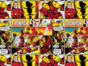 Camelot Fabrics Marvel Comics Quilting Fabric Iron Man