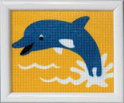 Vervaco Beginners Tapestry Kit Dolphin