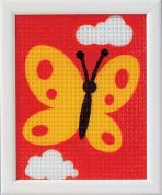 Vervaco Beginners Tapestry Kit Butterfly