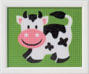 Vervaco Beginners Tapestry Kit Cow