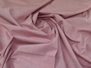 Lady McElroy Cotton Shirting Fabric  Pink