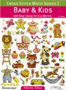 DMC Baby & Kids Cross Stitch Motif Pattern Book Series 2