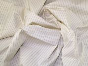 Lady McElroy Stretch Suiting Fabric  Cream