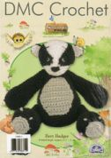 DMC Bert Badger Toy Petra Crochet Pattern