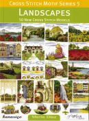 DMC Landscapes Cross Stitch Motif Pattern Book Series 5