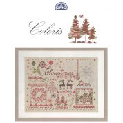 DMC Mouline Coloris Christmas Cross Stitch Book