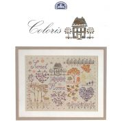 DMC Mouline Coloris Home Sweet Home Cross Stitch Book