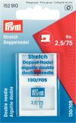 Prym Stretch Twin Double Sewing Machine Needles