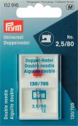 Prym Twin Double Sewing Machine Needles