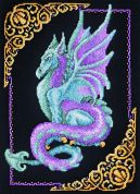 Janlynn Counted Cross Stitch Kit Mythical Dragon