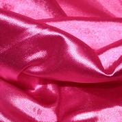 Shimmer Polyester Dress Fabric  Cerise Pink