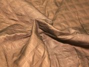 Pre Quilted Faux Leather Dress Fabric