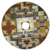 Jennie Rayment Eazy Peazy Patchwork Quilting DVD