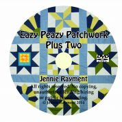Jennie Rayment Eazy Peazy Patchwork Quilting DVD Two