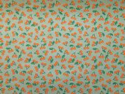Rico Woven Cotton Fabric  Orange