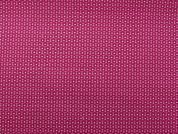 Rico Woven Cotton Fabric  Pink