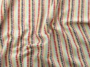 Rico Cotton Jersey Fabric  Multicoloured