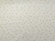 Rico Woven Cotton Fabric  Gold