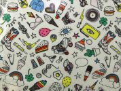 Rico PVC Vinyl Fabric  Multicoloured