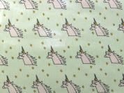 Rico PVC Vinyl Fabric  Mint Green