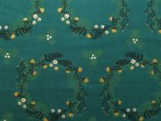 Rico Woven Cotton Fabric  Green